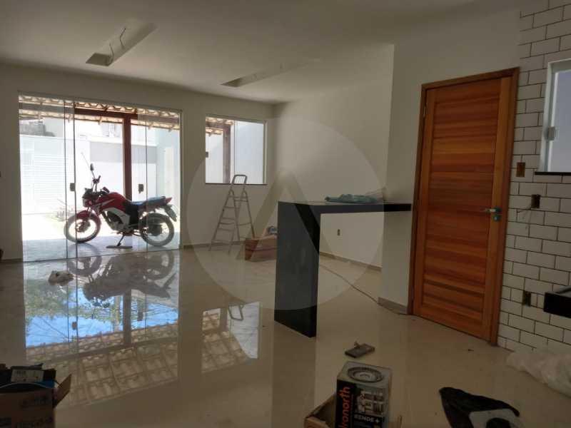 5 Casa Padrão Linear Itaipu. - Imobiliária Agatê Imóveis vende Casa Padrão de 120 m² Itaipu - Niterói por 410 mil reais. - HTCA30188 - 6