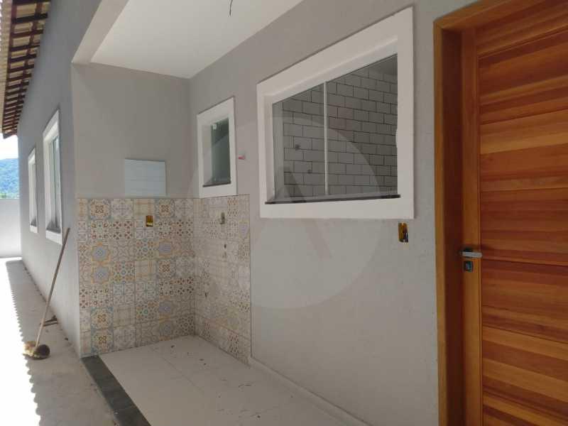 15 Casa Padrão Linear Itaipu. - Imobiliária Agatê Imóveis vende Casa Padrão de 120 m² Itaipu - Niterói por 410 mil reais. - HTCA30188 - 16