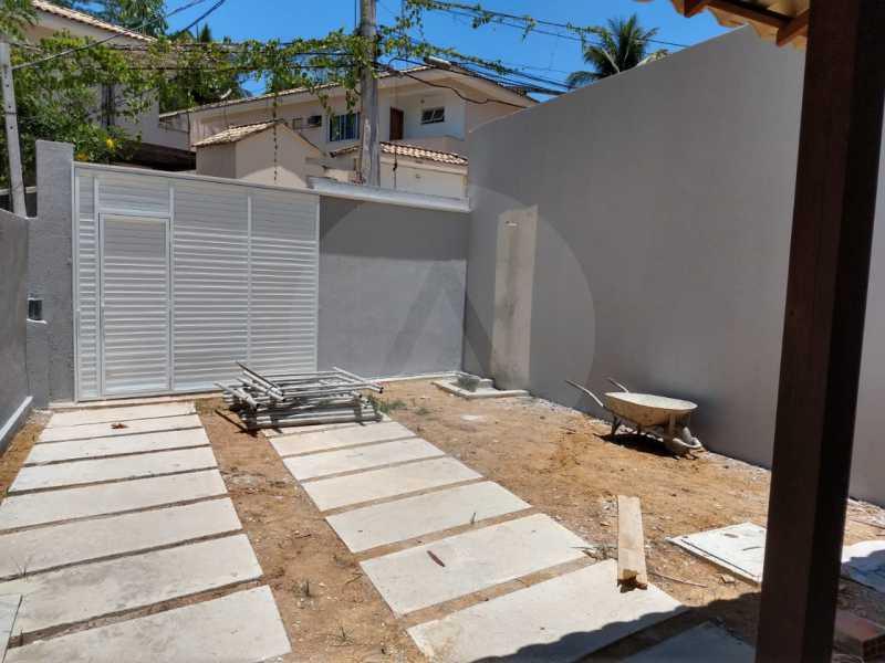 17 Casa Padrão Linear Itaipu. - Imobiliária Agatê Imóveis vende Casa Padrão de 120 m² Itaipu - Niterói por 410 mil reais. - HTCA30188 - 18
