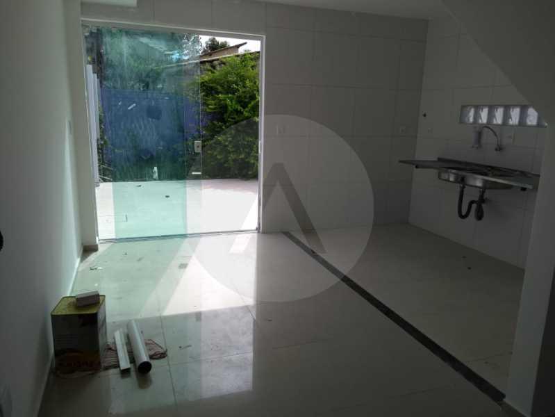 5-Casa Duplex Itaipu. - IMOBILIÁRIA AGATÊ IMÓVEIS VENDE CASA DUPLEX ITAIPU , NITERÓI. - HTCA40083 - 6
