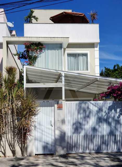 1 Casa Padrão Itaipu - Imobiliária Agatê Imóveis vende Casa Padrão Porteira Fechada de 153 m² por 900 mil reais Itaipu - Niterói. - HTCA40086 - 3
