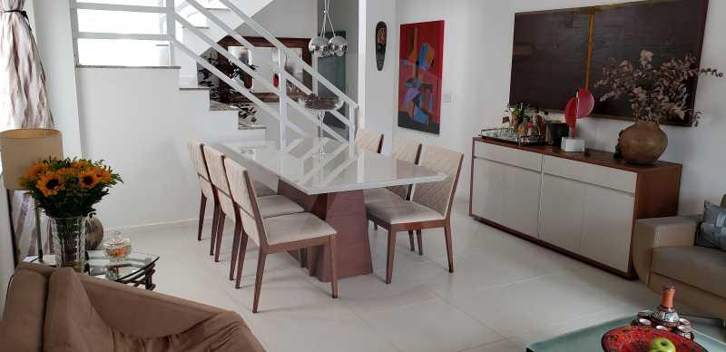 5 Casa Padrão Itaipu - Imobiliária Agatê Imóveis vende Casa Padrão Porteira Fechada de 153 m² por 900 mil reais Itaipu - Niterói. - HTCA40086 - 7