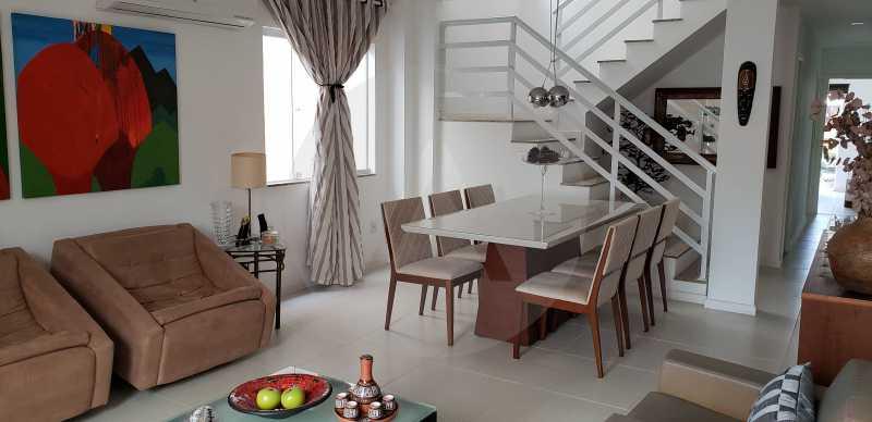 6 Casa Padrão Itaipu - Imobiliária Agatê Imóveis vende Casa Padrão Porteira Fechada de 153 m² por 900 mil reais Itaipu - Niterói. - HTCA40086 - 8