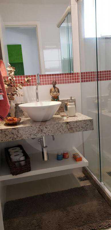 7 Casa Padrão Itaipu - Imobiliária Agatê Imóveis vende Casa Padrão Porteira Fechada de 153 m² por 900 mil reais Itaipu - Niterói. - HTCA40086 - 9