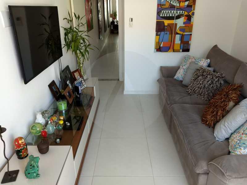 8 Casa Padrão Itaipu - Imobiliária Agatê Imóveis vende Casa Padrão Porteira Fechada de 153 m² por 900 mil reais Itaipu - Niterói. - HTCA40086 - 10