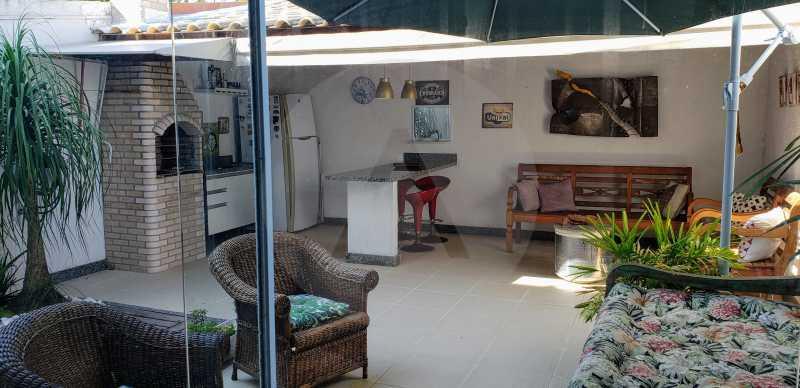 9 Casa Padrão Itaipu - Imobiliária Agatê Imóveis vende Casa Padrão Porteira Fechada de 153 m² por 900 mil reais Itaipu - Niterói. - HTCA40086 - 11