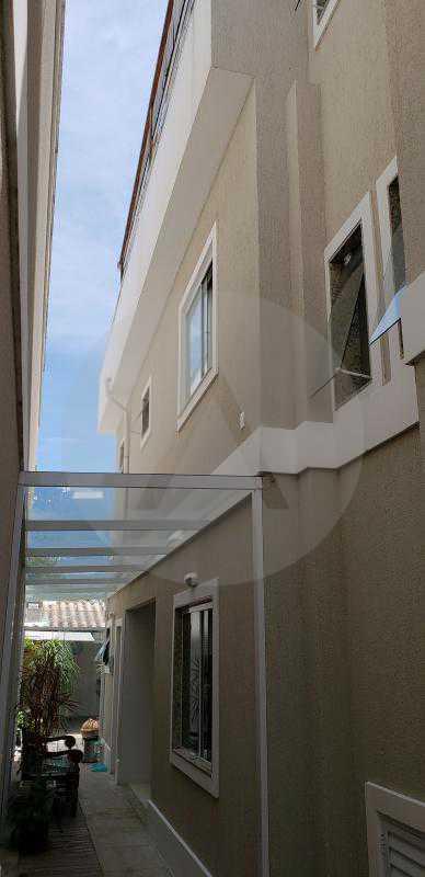 10 Casa Padrão Itaipu - Imobiliária Agatê Imóveis vende Casa Padrão Porteira Fechada de 153 m² por 900 mil reais Itaipu - Niterói. - HTCA40086 - 12