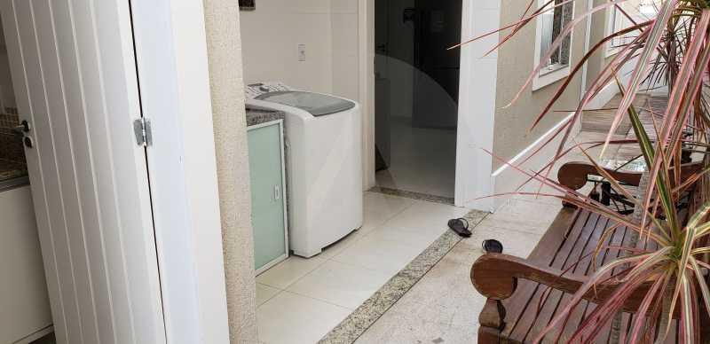 11 Casa Padrão Itaipu - Imobiliária Agatê Imóveis vende Casa Padrão Porteira Fechada de 153 m² por 900 mil reais Itaipu - Niterói. - HTCA40086 - 13