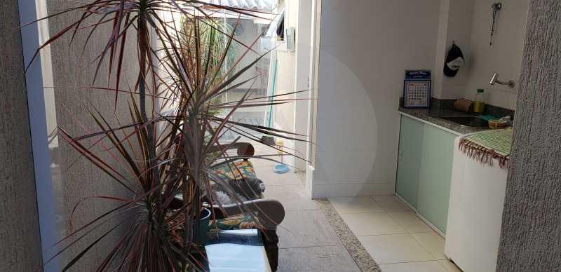12 Casa Padrão Itaipu - Imobiliária Agatê Imóveis vende Casa Padrão Porteira Fechada de 153 m² por 900 mil reais Itaipu - Niterói. - HTCA40086 - 14