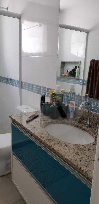 16 Casa Padrão Itaipu - Imobiliária Agatê Imóveis vende Casa Padrão Porteira Fechada de 153 m² por 900 mil reais Itaipu - Niterói. - HTCA40086 - 18