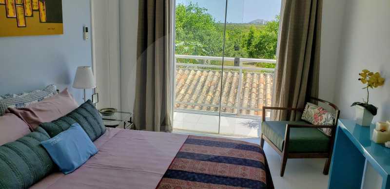 21 Casa Padrão Itaipu - Imobiliária Agatê Imóveis vende Casa Padrão Porteira Fechada de 153 m² por 900 mil reais Itaipu - Niterói. - HTCA40086 - 23
