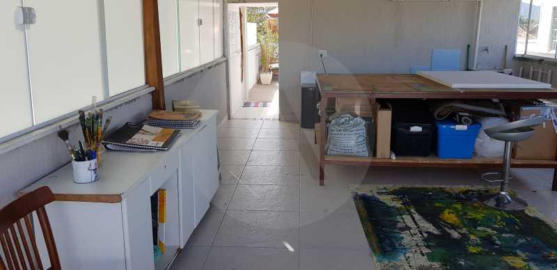 23 Casa Padrão Itaipu - Imobiliária Agatê Imóveis vende Casa Padrão Porteira Fechada de 153 m² por 900 mil reais Itaipu - Niterói. - HTCA40086 - 25