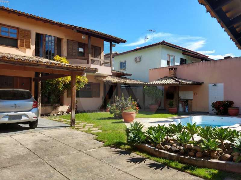 2 Casa Padrão Cambinhas. - Imobiliária Agatê Imóveis vende Casa de 180 m² por 1.290 mil reais Camboinhas - Niterói. - HTCA30190 - 3
