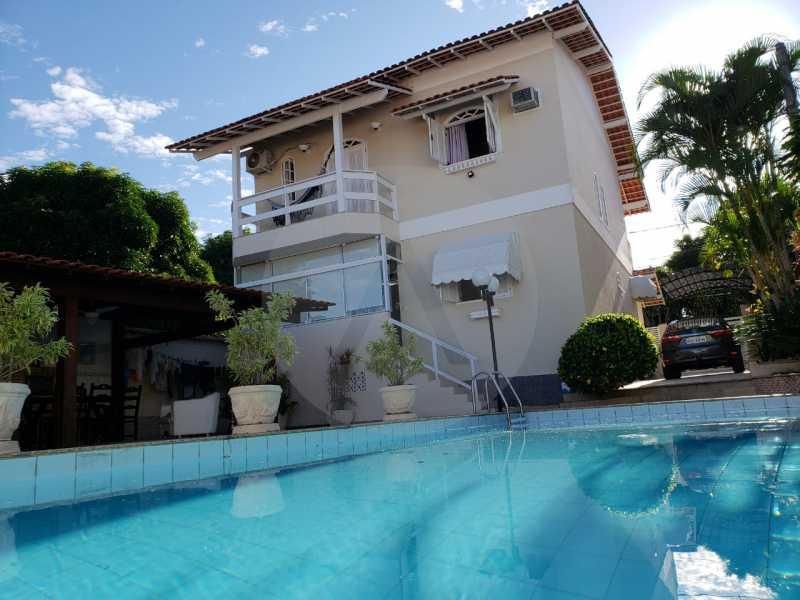 condominio colinazul itaipu 6 - Imobiliária Agatê Imóveis vende Casa em Condomínio de 250m² por 1.260 mil reais Itaipu - Niterói. - HTCN40061 - 3