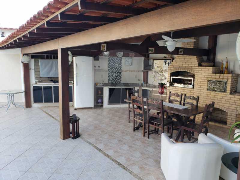 condominio colinazul itaipu 7 - Imobiliária Agatê Imóveis vende Casa em Condomínio de 250m² por 1.260 mil reais Itaipu - Niterói. - HTCN40061 - 4