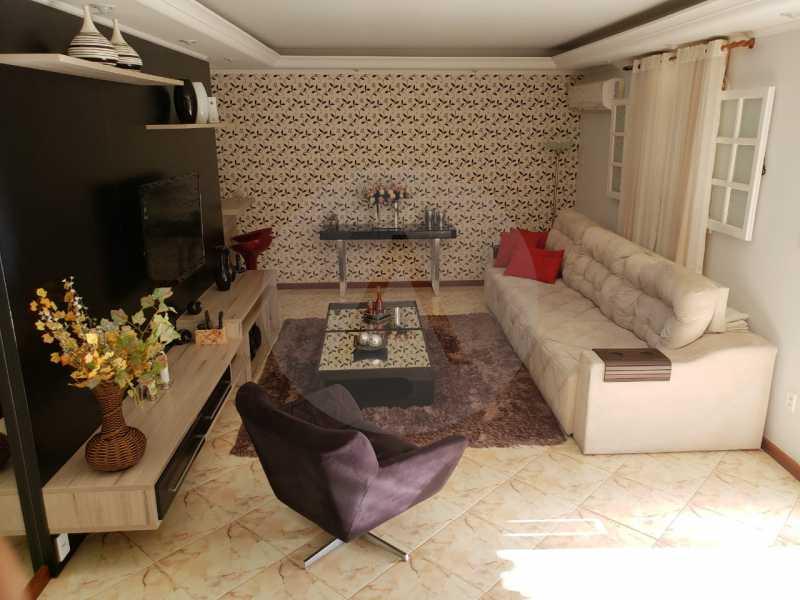 condominio colinazul itaipu 9 - Imobiliária Agatê Imóveis vende Casa em Condomínio de 250m² por 1.260 mil reais Itaipu - Niterói. - HTCN40061 - 10