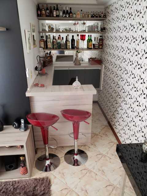 condominio colinazul itaipu 11 - Imobiliária Agatê Imóveis vende Casa em Condomínio de 250m² por 1.260 mil reais Itaipu - Niterói. - HTCN40061 - 13