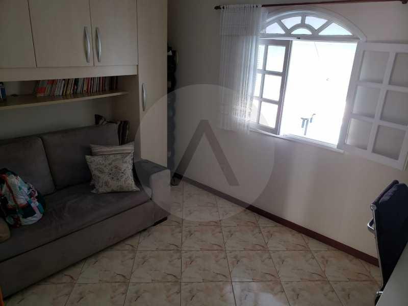 condominio colinazul itaipu 13 - Imobiliária Agatê Imóveis vende Casa em Condomínio de 250m² por 1.260 mil reais Itaipu - Niterói. - HTCN40061 - 16