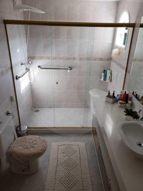 condominio colinazul itaipu 15 - Imobiliária Agatê Imóveis vende Casa em Condomínio de 250m² por 1.260 mil reais Itaipu - Niterói. - HTCN40061 - 18