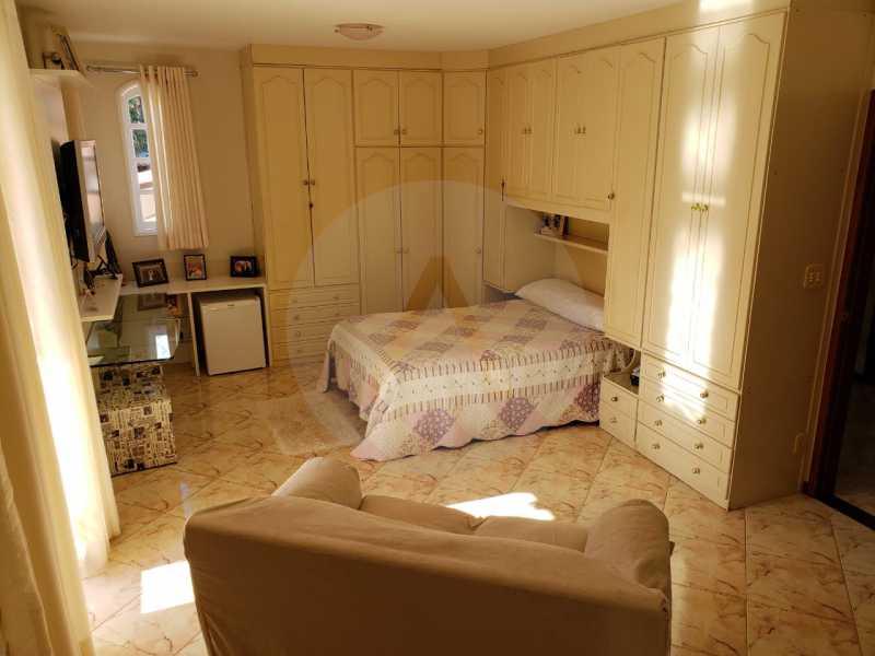 condominio colinazul itaipu 17 - Imobiliária Agatê Imóveis vende Casa em Condomínio de 250m² por 1.260 mil reais Itaipu - Niterói. - HTCN40061 - 12