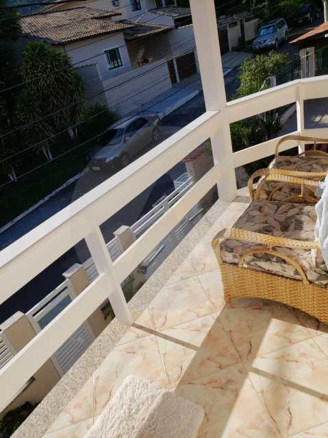 condominio colinazul itaipu 18 - Imobiliária Agatê Imóveis vende Casa em Condomínio de 250m² por 1.260 mil reais Itaipu - Niterói. - HTCN40061 - 19