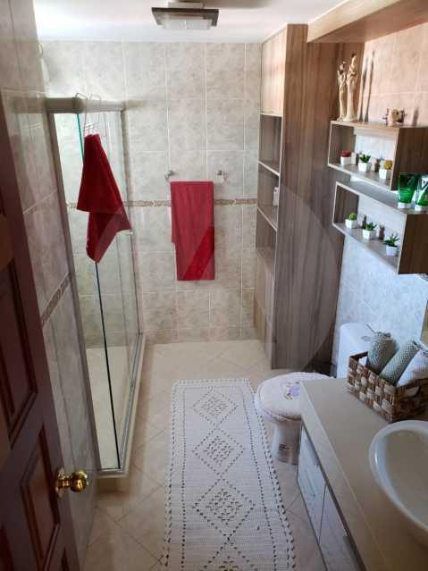 condominio colinazul itaipu 21 - Imobiliária Agatê Imóveis vende Casa em Condomínio de 250m² por 1.260 mil reais Itaipu - Niterói. - HTCN40061 - 23