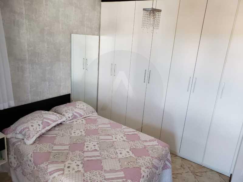 condominio colinazul itaipu 22 - Imobiliária Agatê Imóveis vende Casa em Condomínio de 250m² por 1.260 mil reais Itaipu - Niterói. - HTCN40061 - 24