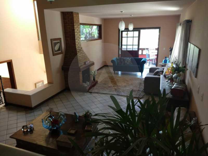13 Casa Condomínio Itaipu. - Imobiliária Agatê Imóveis vende Oportunidade Casa em Condomínio de 380 m² por 750 mil reais Itaipu - Niterói. - HTCN50011 - 14