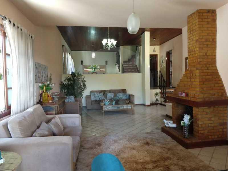 14 Casa Condomínio Itaipu. - Imobiliária Agatê Imóveis vende Oportunidade Casa em Condomínio de 380 m² por 750 mil reais Itaipu - Niterói. - HTCN50011 - 15