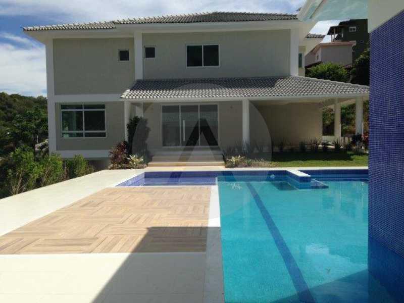 1 Casa Condomínio Pendotiba - Imobiliária Agatê Imóveis vende Casa em Condomínio de 740 m² Itaipu - Niterói por 2.500 mil reais. - HTCN50013 - 1