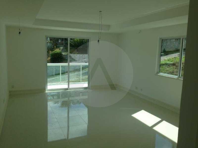 16 Casa Condomínio Pendotiba - Imobiliária Agatê Imóveis vende Casa em Condomínio de 740 m² Itaipu - Niterói por 2.500 mil reais. - HTCN50013 - 17