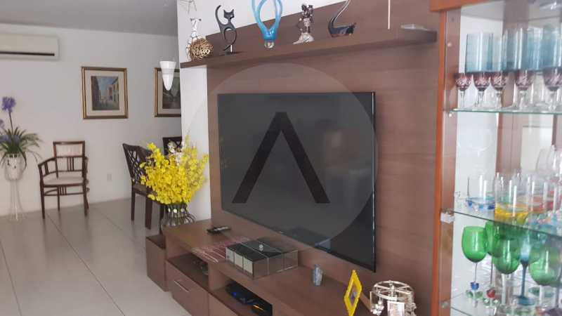 4 Apartamento Padrão Piratini - Imobiliária Agatê Imóveis vende Apartamento Padrão de 173m² Piratininga - Niterói por 1.570 mil reais. - HTAP40005 - 5