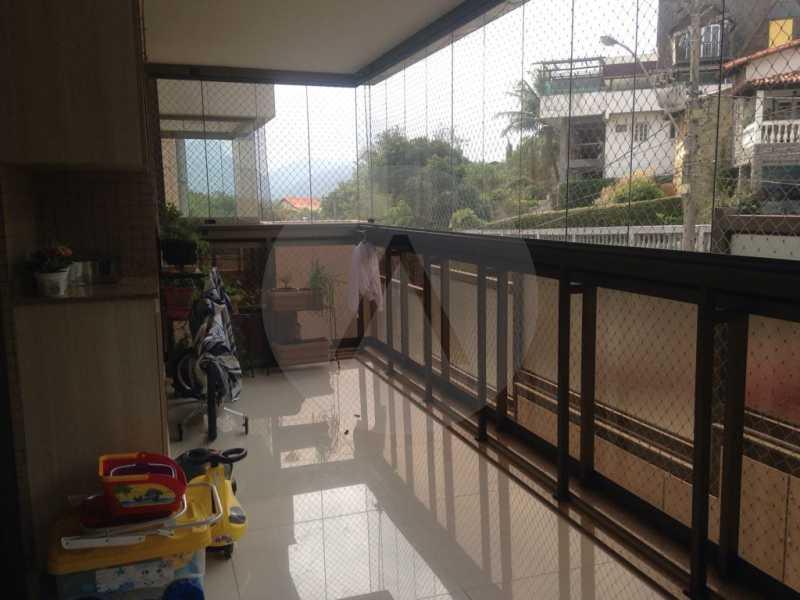 6 Apartamento Padrão Piratini - Imobiliária Agatê Imóveis vende Apartamento Padrão de 173m² Piratininga - Niterói por 1.570 mil reais. - HTAP40005 - 7