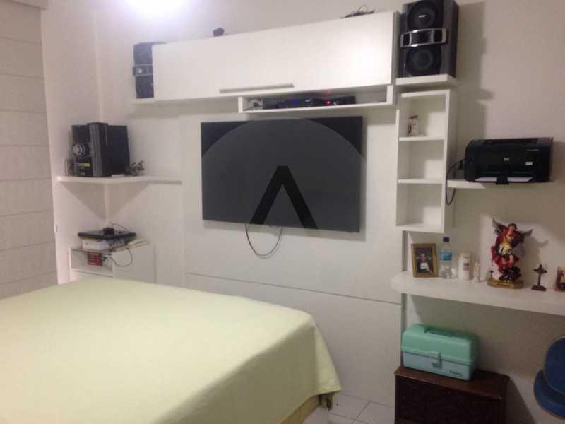8 Apartamento Padrão Piratini - Imobiliária Agatê Imóveis vende Apartamento Padrão de 173m² Piratininga - Niterói por 1.570 mil reais. - HTAP40005 - 9