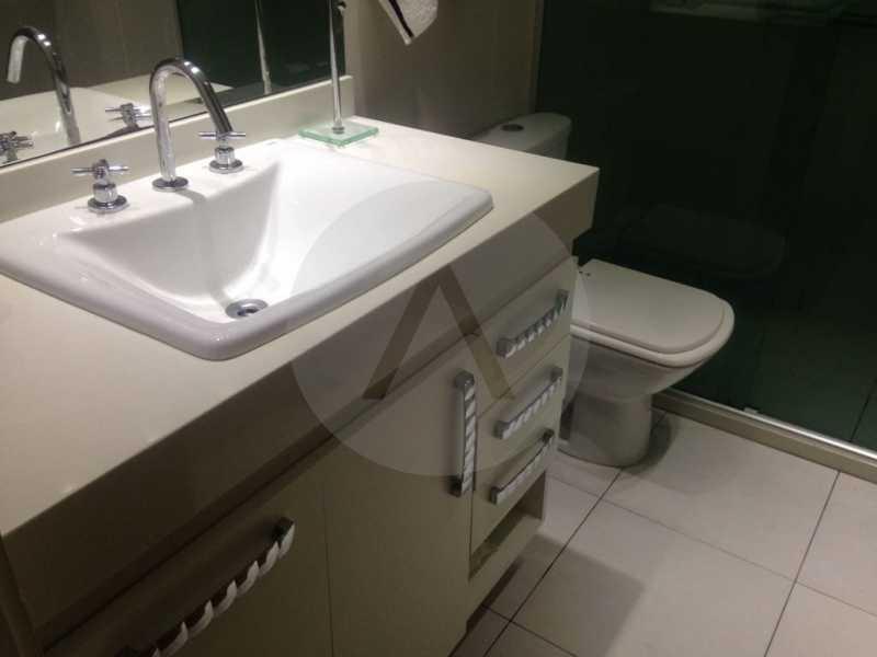 17 Apartamento Padrão Piratin - Imobiliária Agatê Imóveis vende Apartamento Padrão de 173m² Piratininga - Niterói por 1.570 mil reais. - HTAP40005 - 18