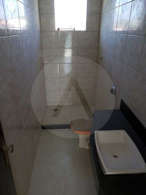 8 Casa Padrão Itaipu. - Imobiliária Agatê Imóveis vende Casa Padrão de 160 m² Itaipu - Niterói por 420 mil reais. - HTCA30197 - 9