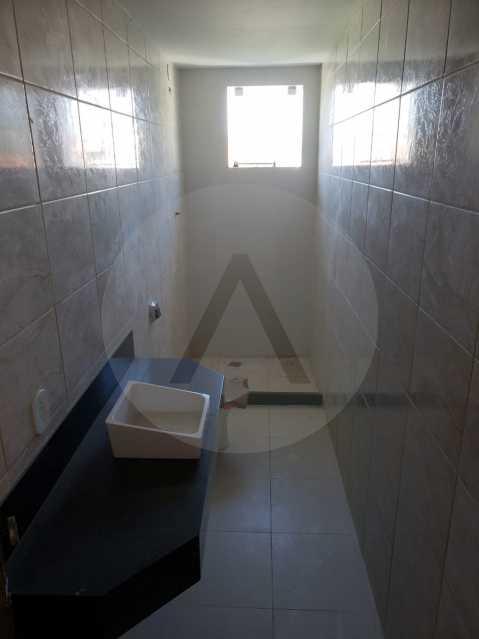 11 Casa Padrão Itaipu. - Imobiliária Agatê Imóveis vende Casa Padrão de 160 m² Itaipu - Niterói por 420 mil reais. - HTCA30197 - 12