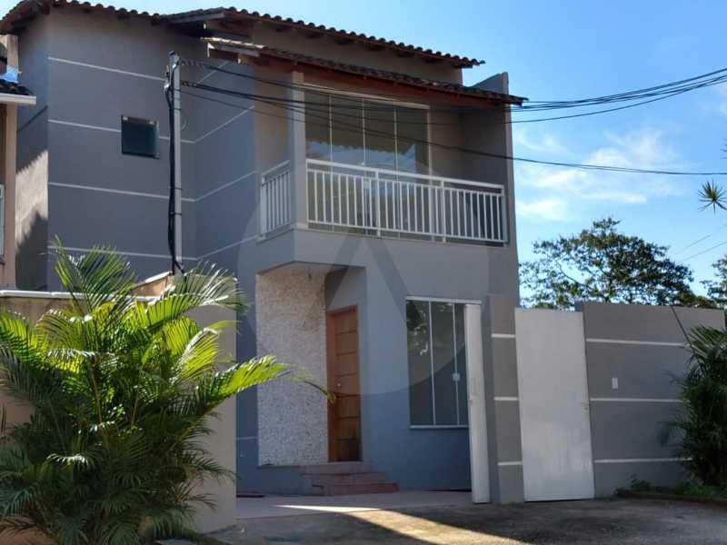 1 Casa Condomínio Itaipu. - Imobiliária Agatê Imóveis vende Casa em Condomínio de 120 m² Itaipu - Niterói por 450 mil reais - HTCN30011 - 1
