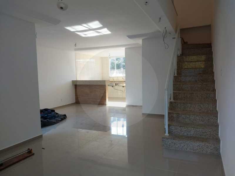 3 Casa Condomínio Itaipu. - Imobiliária Agatê Imóveis vende Casa em Condomínio de 120 m² Itaipu - Niterói por 450 mil reais - HTCN30011 - 4