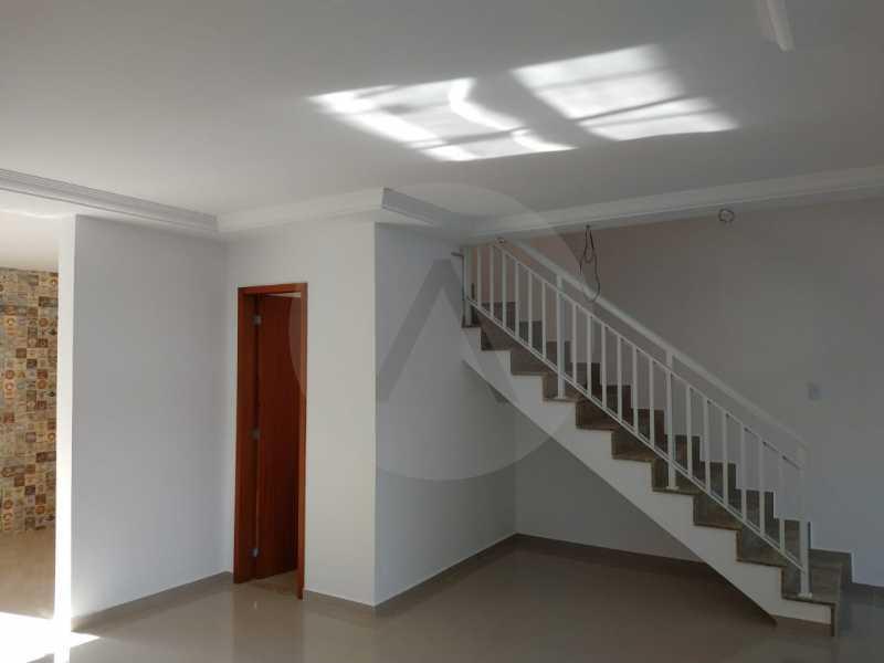 5 Casa Condomínio Itaipu. - Imobiliária Agatê Imóveis vende Casa em Condomínio de 120 m² Itaipu - Niterói por 450 mil reais - HTCN30011 - 6
