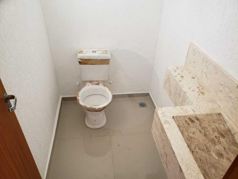 6 Casa Condomínio Itaipu. - Imobiliária Agatê Imóveis vende Casa em Condomínio de 120 m² Itaipu - Niterói por 450 mil reais - HTCN30011 - 7