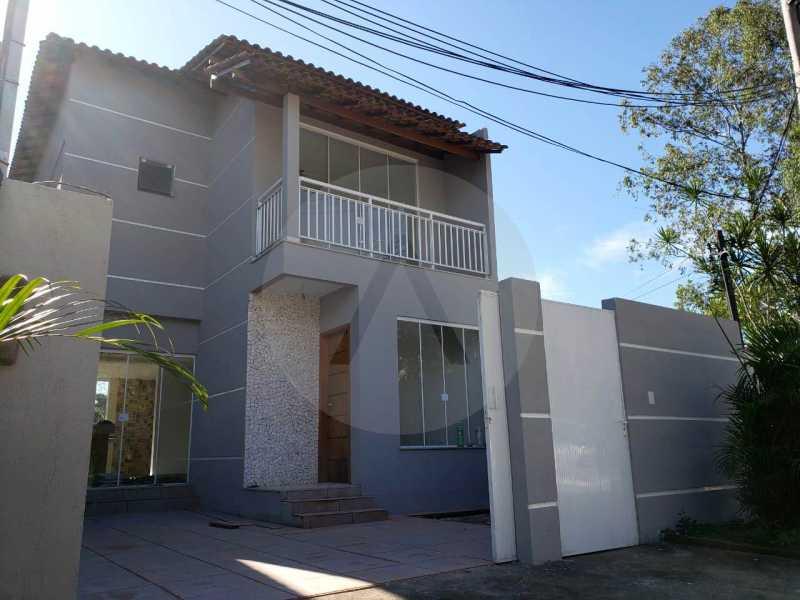 20 Casa Condomínio Itaipu. - Imobiliária Agatê Imóveis vende Casa em Condomínio de 120 m² Itaipu - Niterói por 450 mil reais - HTCN30011 - 21