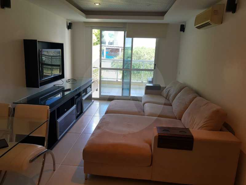 2 -Flat Camboinhas. - Imobiliária Agatê Imóveis vende Apartamento/Flat de 60m² por R 420.000 - Camboinhas - Niterói/RJ. - HTFL20001 - 3