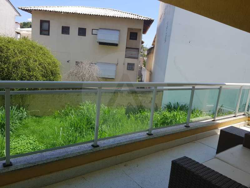 3 -Flat Camboinhas. - Imobiliária Agatê Imóveis vende Apartamento/Flat de 60m² por R 420.000 - Camboinhas - Niterói/RJ. - HTFL20001 - 4