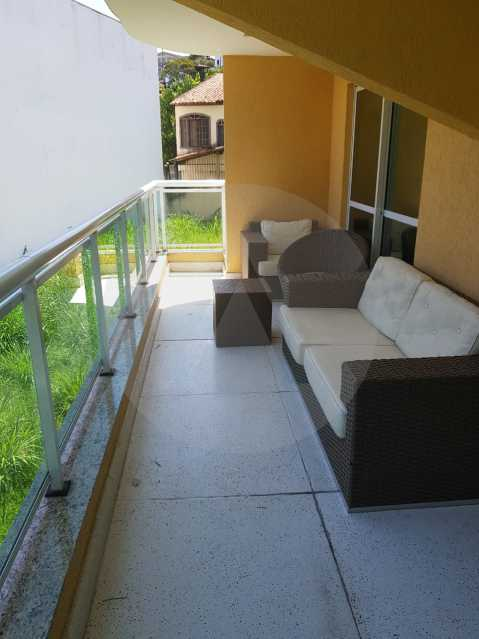 4 -Flat Camboinhas. - Imobiliária Agatê Imóveis vende Apartamento/Flat de 60m² por R 420.000 - Camboinhas - Niterói/RJ. - HTFL20001 - 5