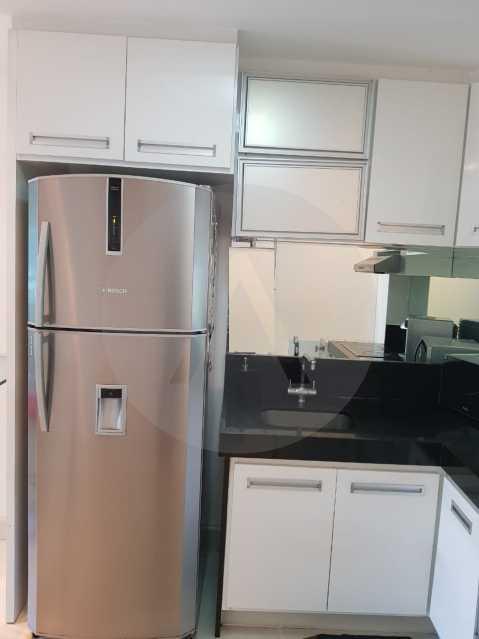6 -Flat Camboinhas. - Imobiliária Agatê Imóveis vende Apartamento/Flat de 60m² por R 420.000 - Camboinhas - Niterói/RJ. - HTFL20001 - 7