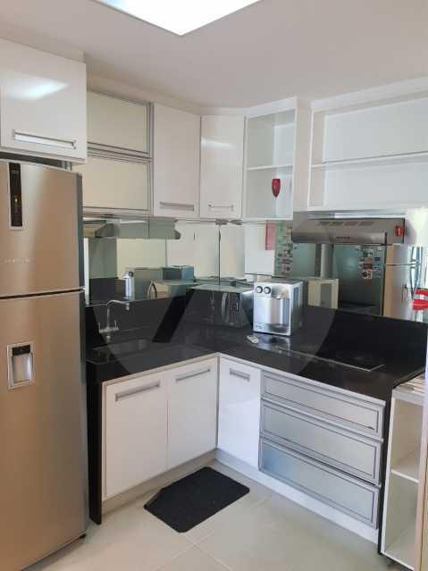 7 -Flat Camboinhas. - Imobiliária Agatê Imóveis vende Apartamento/Flat de 60m² por R 420.000 - Camboinhas - Niterói/RJ. - HTFL20001 - 8