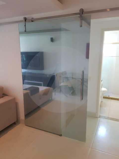 8 -Flat Camboinhas. - Imobiliária Agatê Imóveis vende Apartamento/Flat de 60m² por R 420.000 - Camboinhas - Niterói/RJ. - HTFL20001 - 9