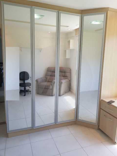 14 -Flat Camboinhas. - Imobiliária Agatê Imóveis vende Apartamento/Flat de 60m² por R 420.000 - Camboinhas - Niterói/RJ. - HTFL20001 - 15