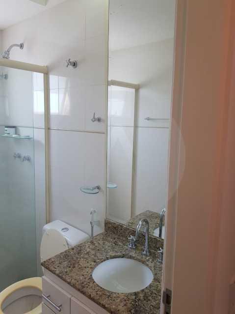 15 - Flat Camboinhas. - Imobiliária Agatê Imóveis vende Apartamento/Flat de 60m² por R 420.000 - Camboinhas - Niterói/RJ. - HTFL20001 - 16